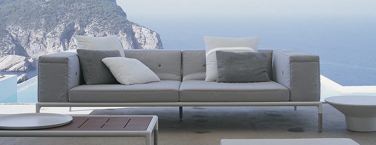 springtime b b italia outdoor sofa und loungenm bel. Black Bedroom Furniture Sets. Home Design Ideas