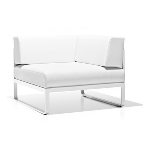Sit Loungesofa Eckmodul links von Bivaq • hochwertige Outdoor Gartenmöbel in Hamburg