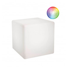 Moree Beistelltisch Cube LED Accu Outdoor Lithium