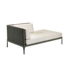 Ethimo Infinity Lounge Daybed links, 160 cm