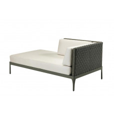 Ethimo Infinity Lounge Daybed rechts, 160 cm