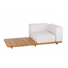 Point Pal Loungesofa Modul links 184 cm, mit Ablagefläche