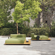Point Pal Outdoor Daybed / Doppel Sonnenliege 184 cm