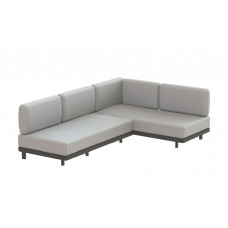 Royal Botania Red Label • Alura Lounge Ecksofa 245 rechts/links