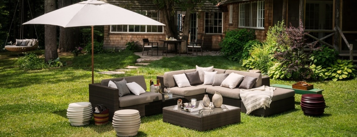 lounge dedon hochwertige outdoor gartenm bel villa schmidt. Black Bedroom Furniture Sets. Home Design Ideas