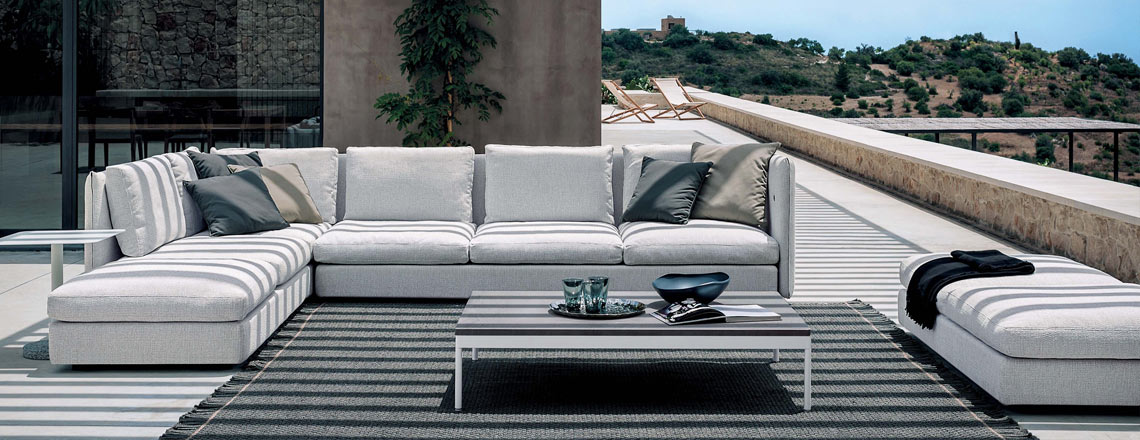 double roda modulierbare outdoor loungegruppen. Black Bedroom Furniture Sets. Home Design Ideas