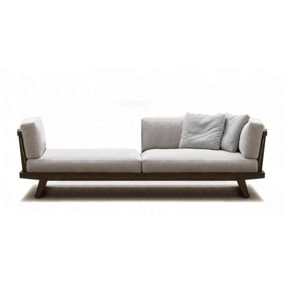 B&B Italia Gio Chaiselongue 238 cm rechts