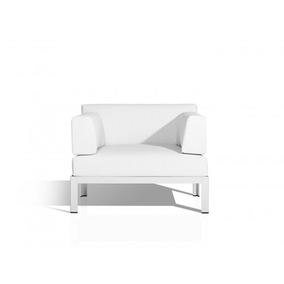 Nak XL S1 Loungesofa high 42 cm / low 33 cm  von Bivaq - hochwertige Lounge Gartenmöbel in Hamburg