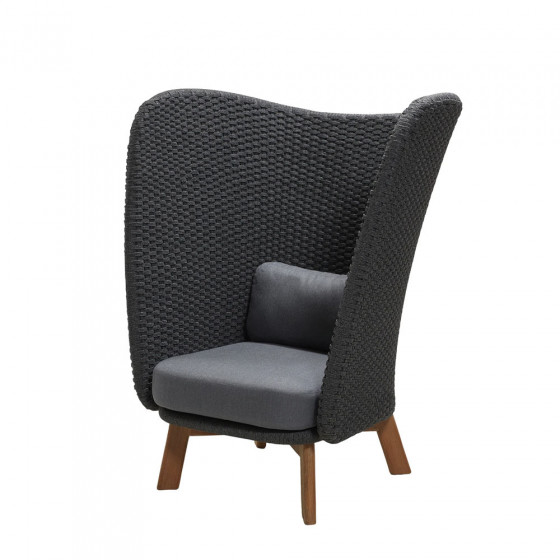 Cane-line Peacock Wing Loungesessel Hochlehner