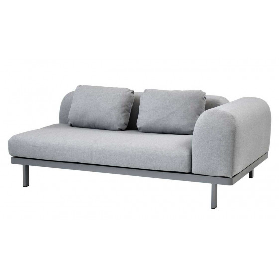 Cane-line Space Loungesofa Zweisitzer Modul links 180 cm