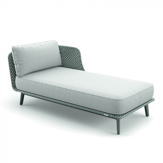 DEDON MBARQ Daybed links 133 nori mit 141 baltic