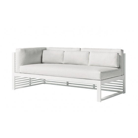 DNA Loungesofa 3 Modul links 180 × 88 cm von GANDIA BLASCO
