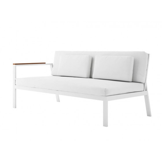Timeless Loungesofa 1 • Gartensofa links 175 × 84 cm von GANDIA BLASCO