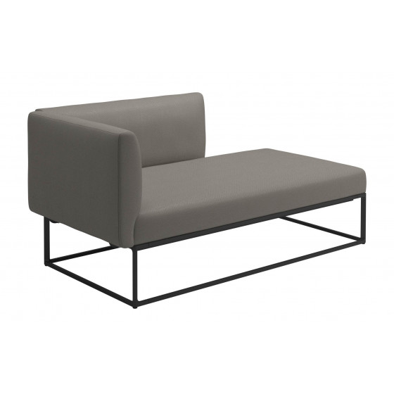 Gloster Maya Chaiselongue links • Loungemodul 161 cm