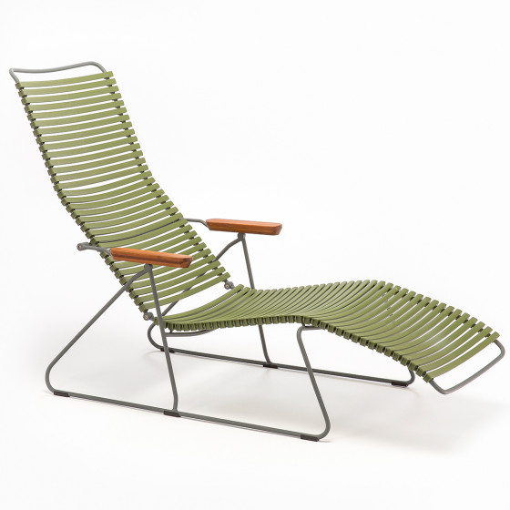 Houe Click Gartenliege, Farbe: Olive Green 71