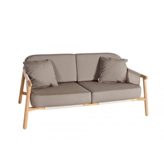 Point Hamp Outdoor Zweisitzer Loungesofa