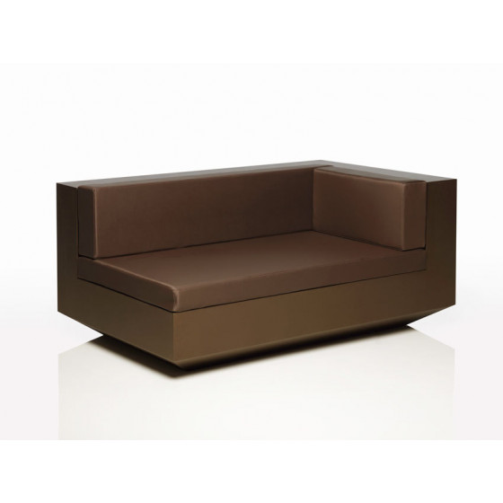 Vondom Vela Chaiselongue, Chaiselongue Modul rechts/links