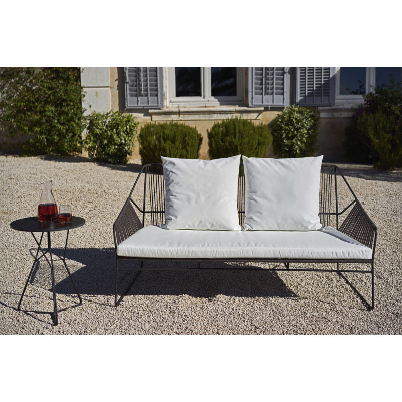 oasiq sandur outdoor gartensofa zweisitzer loungesofa villa schmidt hamburg. Black Bedroom Furniture Sets. Home Design Ideas