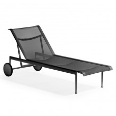 Knoll Studio, 1966 Collection Sonnenliege, verstellbar & rollbar