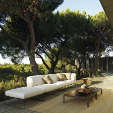 Andreu World Siesta Loungehocker • Gartenhocker