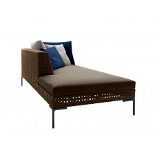 B&B Italia Charles Outdoor Chaise Longue Element links 234 cm