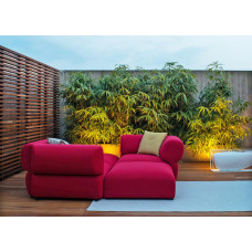B&B Italia Butterfly Gartensofa Endmodul links