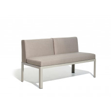 Nak 65 S2 Loungesofa high 47 cm / low 42 cm (konfigurierbar) von Bivaq