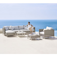 Cane-line Connect Loungehocker | Gartenhocker 72 cm