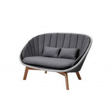 Cane-line Peacock Weave Loungesofa Zweisitzer 151 cm