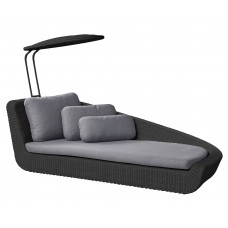Cane-line Savannah Daybed | Sonnenliege links 98 cm