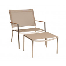 Casino Fußhocker für Lounge Chair von Royal Mirage