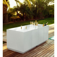 Vondom Vela Bartheke Regal 100×50×200 cm