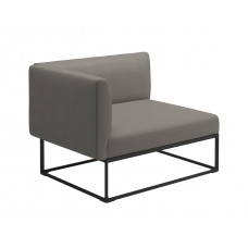 Gloster Maya Endmodul links • Loungemodul links 111 cm