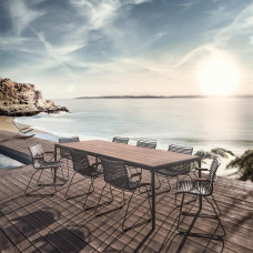 Houe Four Bartisch • Outdoor Tisch 90 × 90 cm
