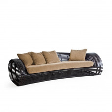 Loungesofa Lolah 240 cm (brown/whitewash) von Kenneth Cobonpue