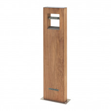 Royal Botania Log Leuchte Teak, 70 cm