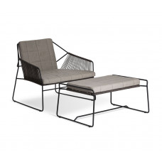 OASIQ SANDUR Outdoor Loungehocker • Gartenhocker