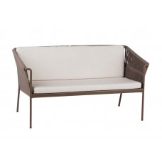 Point Weave Club Loungesofa Zweisitzer 132 cm