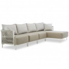 Roberti Queen Loungesofa mit Chaiselongue • inkl. Polster