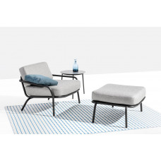 Todus Starling Gartenhocker • Loungehocker 68 cm