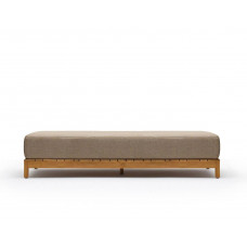 Varaschin Barcode Lounge Daybed 180 cm mit Teakholzgestell