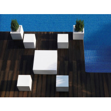 Vondom Quadrat Lounge Hocker 40 cm