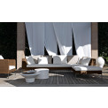 Charles Outdoor Endelement links von B&B Italia, Outdoor Gartenmöbel B&B Italia