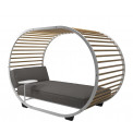 Gloster Cradle Lounge Daybed mit Dach