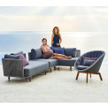 Cane-line Moments Loungegruppe | Gartensofa