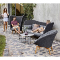 Cane-line Peacock Weave Loungegruppe