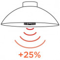 Heatsail • DOME ARC • Stehlampe / Heizstrahler