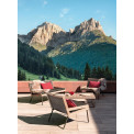 Ethimo Allaperto Mountain Loungetisch • Metall Coffee Brown