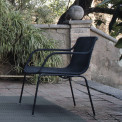 Expormim Lapala Outdoor Loungesesssel mit Polyesterseilgeflecht