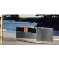 Röshults Garden Kitchen • Kitchen Island 5 Outdoor Module